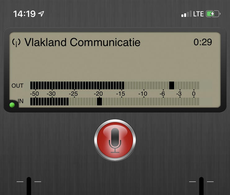 Luci live op iPhone